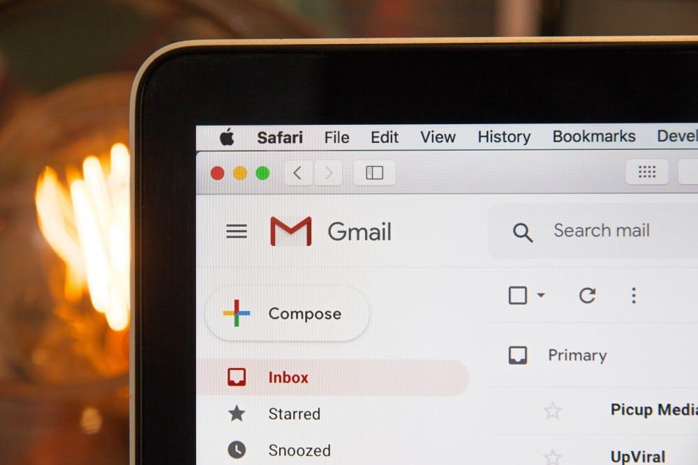 escribir un email en ingles