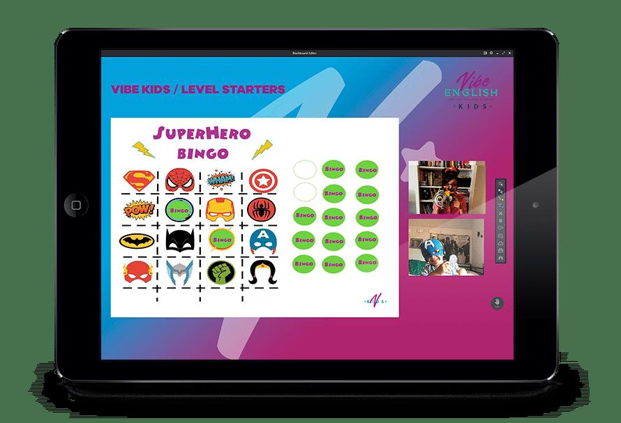 plataforma online ingles para niños